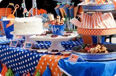 Tailgating - {Gator} Girl Style! Lots of cute tailgating ideas from this crafts blog!