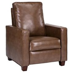 Threshold™ Square Arm Bonded Leather Recliner