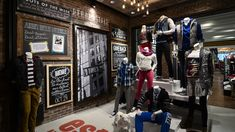 Really nice re-brand for Aeropostale...Love the authentic, vintage and urban elements...http://retaildesignblog.net/wp-content/uploads/2013/01/Aeropostale-store-by-GHA-Design-New-York-03.jpg