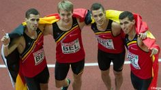 Belgium takes gold at European Indoor Championships