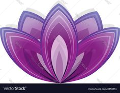 Lotus flower as symbol of yoga. Vector illustration for yoga event, school, club, web. Company logo design. Download a Free Preview or High Quality Adobe Illustrator Ai, EPS, PDF and High Resolution JPEG versions.