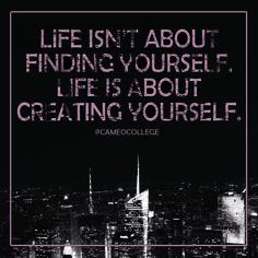 #cameocollege #createyourself #inspiration