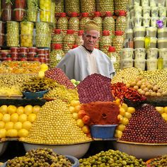 THE OLIVE MAN - MOROCCO