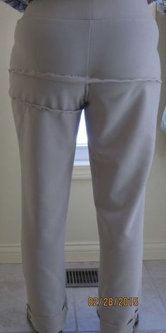 Please critique the fit of my pants. PatternReview.com forums and message boards let sewers share and discuss sewing experiences.