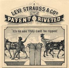 Levi Strauss & Co Leather Patch