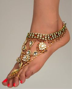These would look great with a belly dancing ensemble.