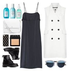 """""""OCEAN VIBES"""" by laughtersassassin ❤ liked on Polyvore featuring Dr. Martens, Tory Burch, Christian Dior, NARS Cosmetics, Theory, Sachajuan and Topshop"""