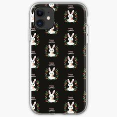 'Easter - Happy Easter Bunny T shirt' iPhone Case by Cell Phone Covers, Iphone Case Covers, Happy Easter Bunny, Free Stickers, Cover Design, Iphone 11, Finding Yourself, Printed, Awesome