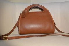 Coach Carousel Bag in British Tan by TheAdventurersLegacy on Etsy
