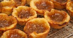 Butter Tarts and Pecan Tarts: Two classic tart recipes. The tradtional Canadian butter tart (with or without raisins) and pecan tarts.