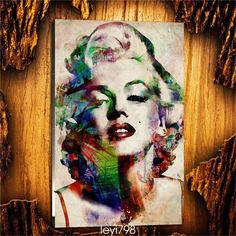 Oil Painting Hd Print Portrait On Canvas Wall Art Modern Decor,Marilyn Monroe