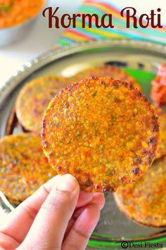You searched for Korma roti - Desi Fiesta Jain Recipes, Paratha Recipes, Curry Recipes, Indian Food Recipes, Vegetarian Recipes, Indian Foods, Indian Snacks, Indian Breads, Pakora Recipes