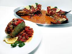Stiuca umpluta, retete vechi, pescaresti Romanian Food, Fish And Seafood, Ratatouille, Steak, Beef, Mai, Ethnic Recipes, Meat, Steaks
