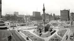 Soldier and Sailors Monument, Cleveland, Ohio. 1907 - the year my Nana was born.