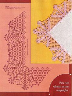 Журнал Trabalhos em Croche: Barrados com Cantos №1,2 2007 - Вяжем сети, спицы и крючок - ТВОРЧЕСТВО РУК - Каталог статей - ЛИНИИ ЖИЗНИ
