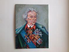 #картина, #масло, #портрет, #Суворов