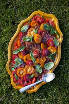 Tomato And Basil Salad from the South of France.