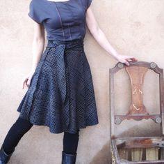iheartfink handmade skirt on Etsy
