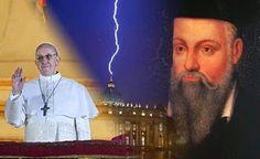 """2015 - As profecias Apocalípticas de Nostradamus e São Malaquias que Apontam Francisco como o """"Papa do Fim do Mundo"""""""
