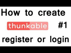 how to create thunkable register or login activity - How to make Android application - (More Info on: http://LIFEWAYSVILLAGE.COM/videos/how-to-create-thunkable-register-or-login-activity-how-to-make-android-application/)
