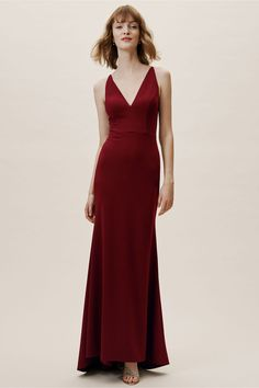 8006e95b823 Jones Dress Bordeaux in Bridesmaids  amp  Bridal Party
