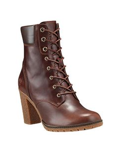 Shop Timberland Glancy Leather Boots from stores. Timberland Boots Outfit, Timberlands Women, Timberlands Shoes, Timberland Fashion, Timberland Waterproof Boots, Yellow Boots, Brown Boots, Me Too Shoes, Cute Shoes Boots