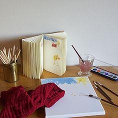 colori, pennelli e fogli, per creare e raccontare la tua storia... #plieelifestyle