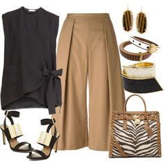 Untitled #671 by staciplus3 on Polyvore featuring J.W. Anderson, N°21, BCBGMAXAZRIA, MICHAEL Michael Kors, CC SKYE, Fendi and Kendra Scott