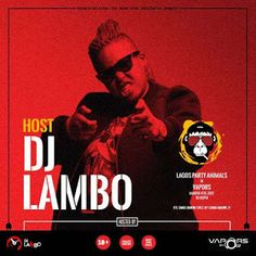 Lagos Party Animals Holds Tomorrow With Dj Lambo     Lagos Party Animals hosted by Africa's foremost female DJ DJ Lambo is back better and much more crazier than ever before as DJ Lambo DJ Humility DJ Big N DJ Olu DJ Java all get set to shut Lagos down.  The 3rd edition #LPA themed 'The Truth' will hold this Saturday March 4 2017as always DJ Lambo will be hosting what is rapidly being termed as Nigeria's craziest party and she will be co-hosted by Vapors' own  DJ Olu. The Hype men for the…