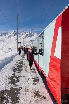 Ausflugsziele Schweiz: Glacier Express - die beste Reisezeit, Route und Angebote Zermatt, Glacier Express, Moritz, Fair Grounds, Wallis, Fun, Travel, Day Trips, Skiing