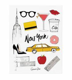 New York Paris Memoir Notebook -- Garance Dore