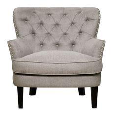 Celine Tufted Arm Chair - $278
