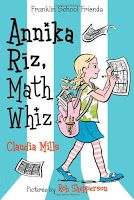 Read-at-Home Mom: Book Review: Annika Riz, Math Whiz by Claudia Mills (2014)