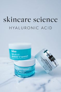 Skincare Science – Hyaluronic Acid