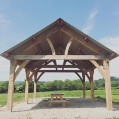 The Dartington campsite barn is finished! You can see from the...