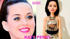 Transformación Barbie en Katy Perry, video sobre como trasformo una barbie normal en la cantante #KatyPerry