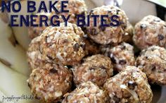 Juggling With Kids: No-Bake Energy Bites Switch with Almond Butter and Brown Rice Syrup