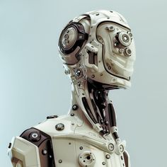 Futuristic robotic man by Ociacia on DeviantArt