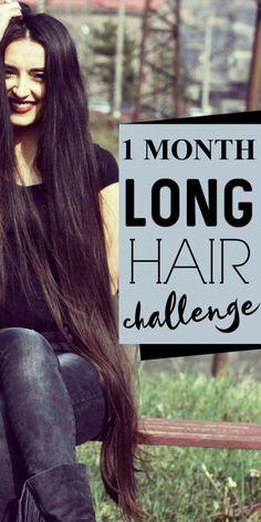 Tip to get long strong hair in 1 month - Frauen Haar Modelle Healthy Hair Tips, Healthy Hair Growth, Natural Hair Growth, Healthy Hair Remedies, Health Remedies, Long Hair Tips, Grow Long Hair, Grow Hair, Hair Growing Tips
