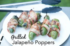 Grilled Jalapeño Poppers ~ NEW 31 Days of Grilling Recipes