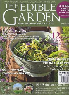 Edible Garden magazine