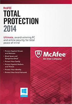 McAfee Total Protection 1PC 2014 [Online Code] - http://www.rekomande.com/mcafee-total-protection-1pc-2014-online-code/