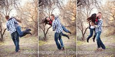 engagement session. spinning.