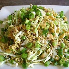 Crunchy Cabbage Salad | gudtast