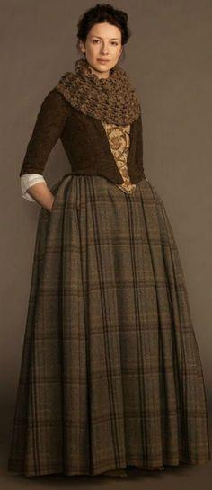 Outlander Claire Outfit clothes