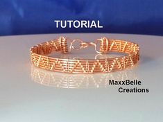 This tutorial was created for beginner wire workers who possess some basic wire weaving skills. It . I wanted to provide a means for completing an entire piece of jewelry that is not only functional, but beautiful as well without it being overly complicated or intimidating. Hope you enjoy!  The tools needed are:  18 gauge round copper wire 28 gauge round copper wire (for weaving) Chain and Round Nose Pliers Wire (Flush) Cutters Eye Protection  Optional: Tape or Spring Clamp Bench Block…