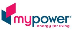 Mypower Logo and brand designed by Graham Dodridge at Silver Agency