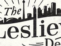 The Leslieville Designer logo 1 designed by Simon Walker. Connect with them on Dribbble; Simon Walker, Adobe Illustrator, Illustrator Tutorials, Logos Retro, Vintage Logos, Logo Design, Ad Design, Graphic Design, Vintage Designs