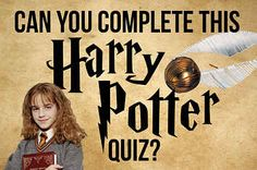 How Well Do You Actually Know Harry Potter?