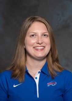 The Buffalo Bills hire Kathryn Smith for special teams quality control, the NFL's first full-time female assistant coach.